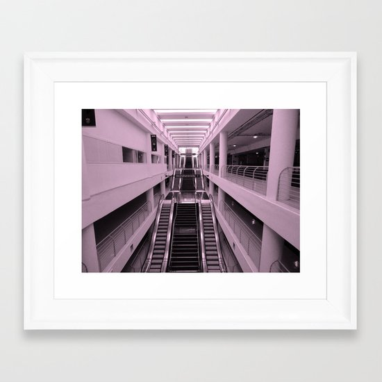 Esclator Framed Art Print