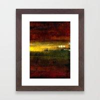 three lights Framed Art Print
