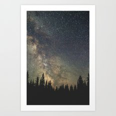 Milky Way Art Print