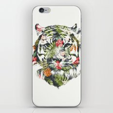 Tropical tiger iPhone & iPod Skin