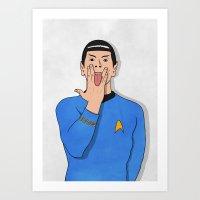 G-Spock Art Print