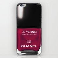Chanel Nail Polish April iPhone & iPod Skin