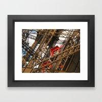 Emerging From The Inside Framed Art Print