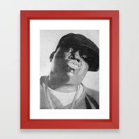 Notorious B.I.G Framed Art Print