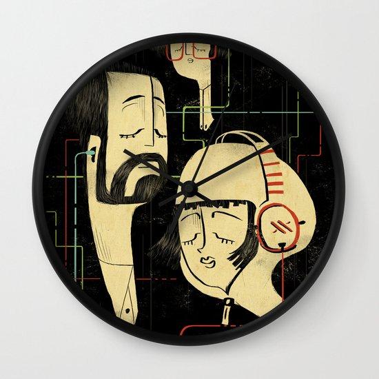 乐 Music v.2 Wall Clock