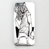 iPhone & iPod Case featuring Bear by Hopler Art