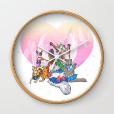 Sailor Kitties Wall Clock