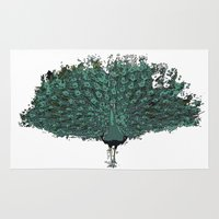 Peacock -blue Rug