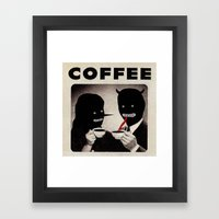 Wow, Is that decaf Framed Art Print
