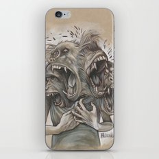 One Screaming Monkey at a Time iPhone & iPod Skin