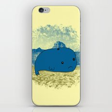 Why such a lonely beach? iPhone & iPod Skin