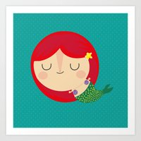 Little Mermaid Art Print