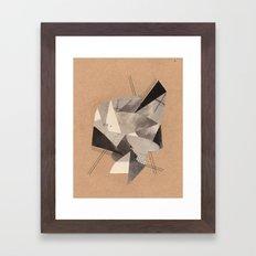 New 1 Framed Art Print