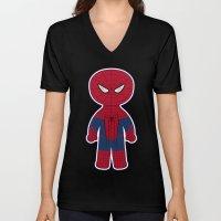 Chibi Spider-man Unisex V-Neck
