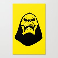 Skeletor. Canvas Print