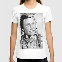 native american T-shirts featuring Native American by chomaee