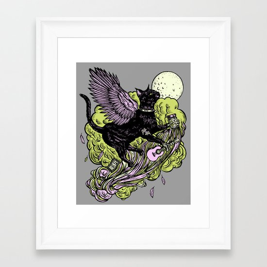 Child Of A Learism Framed Art Print