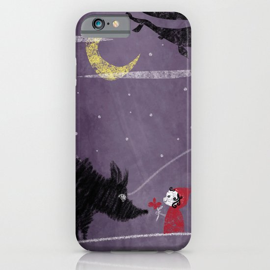 Little Red and Wolf iPhone & iPod Case