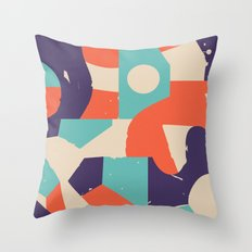 No Rush Throw Pillow