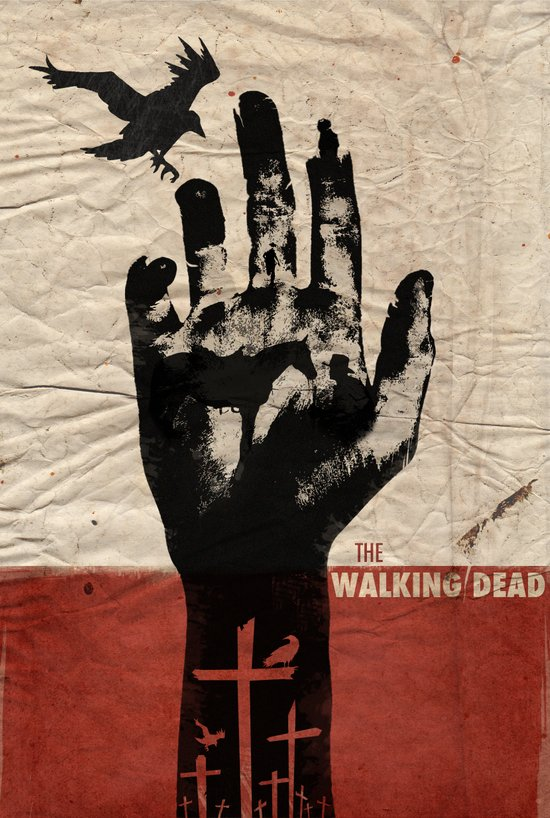 The Walking Dead Art Print