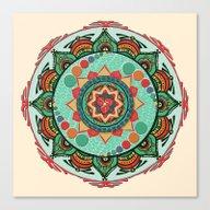 Heart Light Multicolor M… Canvas Print
