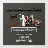 Aragorn Trail Canvas Print