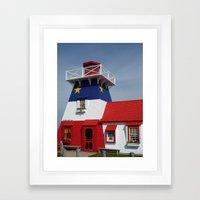 Acadian Lighthouse Framed Art Print