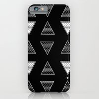 triangle iPhone & iPod Cases featuring Triangle by Emmanuelle Ly