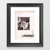An Occasional Woman Framed Art Print