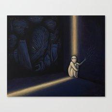 Dark Side Of Me Canvas Print