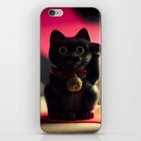 A maneki neko. iPhone & iPod Skin