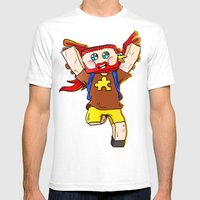 Getting Jiggy With It - … Mens Fitted Tee White SMALL