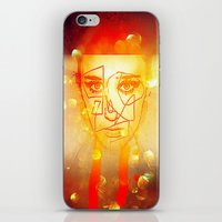 The Girl UnWound iPhone & iPod Skin