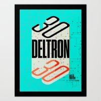 Deltron3030 TBD Fest Poster Art Print