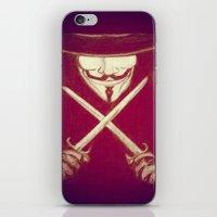 V for Vendetta4 iPhone & iPod Skin
