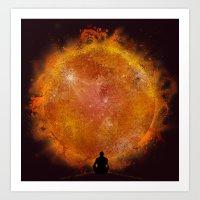 see the sun Art Print