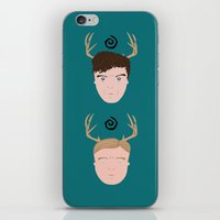 Rust & Marty from True Detective iPhone & iPod Skin