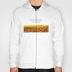 the past is like a foreign country. Hoody