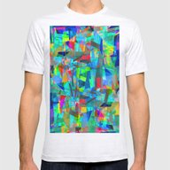 Geo MC. Mens Fitted Tee Ash Grey SMALL