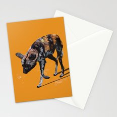 African Wild Dog Stationery Cards