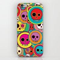 Button Skulls iPhone & iPod Skin