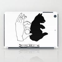 Hand-shadows iPad Case