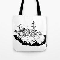 Crystal Islands 3 Tote Bag