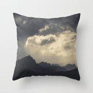 Layers Of Land Throw Pillow