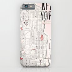 Kate Spade - New York Map iPhone 6 Slim Case