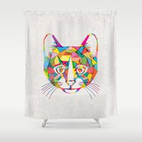 RainboCat Shower Curtain