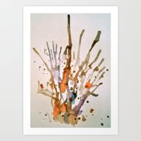 Burst 2 Art Print
