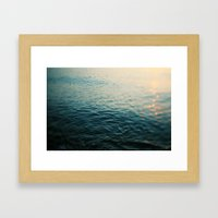 Gleam Framed Art Print