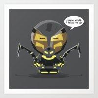 ChibizPop: I Know What I… Art Print