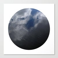 Planetary Bodies - Cloud Ripple Canvas Print
